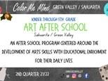 Art After School @ Color Me Mine (Fridays)