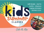 Summer Camp Rainbow Canvas Thursday, August 12th 10AM-12PM