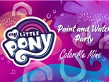 My Little Pony Paint & Watch Party-9/26