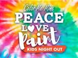Kids Night Out - Groovy Tie Dye - 3/20