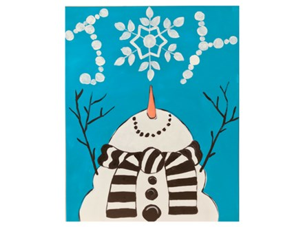 Mt. Washington Kid's Snowman Canvas - Dec. 1st