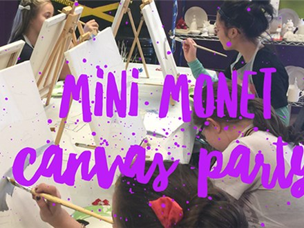 Mini Monet Canvas Party Package (Deposit)