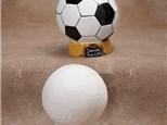 """ Soccer Ball Bank"" To-Go Kit- at Color Me Mine - Aspen"