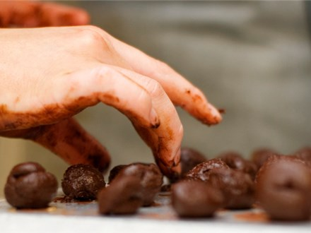 Chocolate Box Experience - Truffle Making and Wine Tasting Class