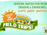 Color Me Mine Field Trips