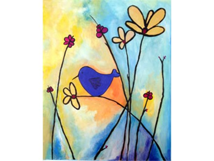 Blue Bird Singing on a Vine - 2.5-hrs.