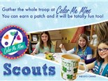 Scouts Troops at Color Me Mine - Delray, FL