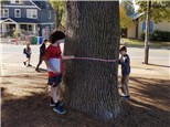 "3rd gr students are on a ""Measurement Scavenger Hunt""!©"