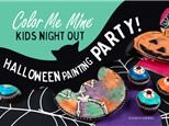 Kids Night Halloween Painting Party!