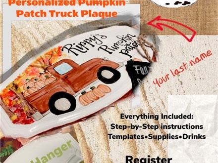Fall Personalized Truck Class 3 of 4