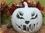 Custom Carved Pumpkin