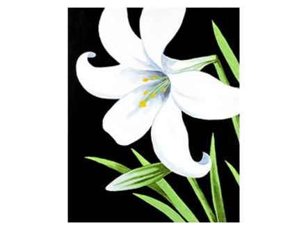 """""""Easter Lily"""" Paint Night, April 16th"""