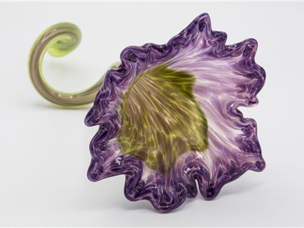make your own glass flower - may 15th