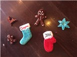 Clay Ornament Workshop! Tuesday, December 6th 4-6p