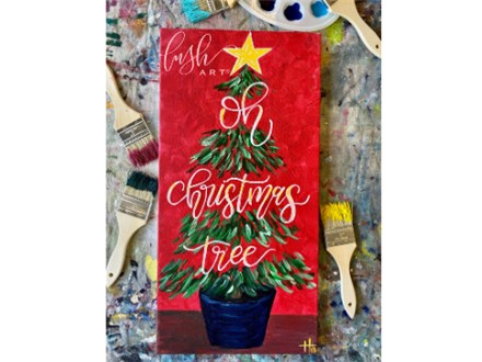 Oh Christmas Tree Paint Class