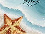 Adult Canvas Night July 24th - Tranquil Surf