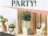 Planter Painting Party! Saturday, May 9th 2-4 P.M.