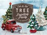 Vintage Tree Painting To-Go/VIRTUAL - Dec 5th