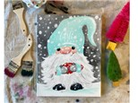 Winter Gnome Paint Class