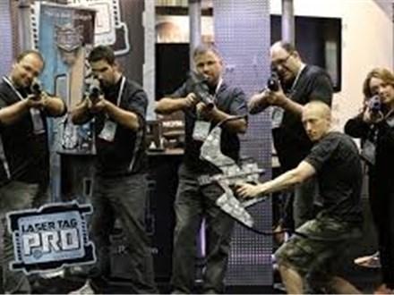 Laser Tag at RU Battle Complex