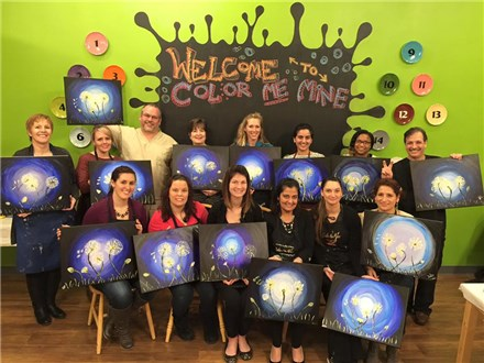 Grand vanGogh Adult Canvas Party
