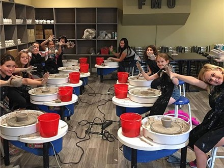 1-Day Mini Camp on the Pottery Wheel 11-1:30pm