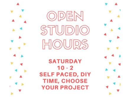 Open Studio - DIY, Self-Paced - Feb 3