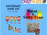 Ticket for Story Time-Jun 1st-When Dads Don't Grow Up