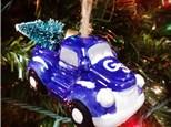 Georgia Southern Truck w/ Tree Ornament
