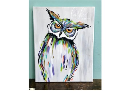 Owl Paint Class