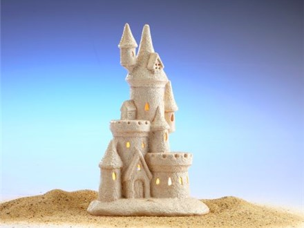Beach Vacation! - Sand Castle with Real Sand