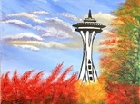 Fall in Seattle - Canvas Class