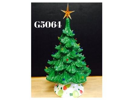 Vintage Ceramic Christmas Tree Painting Party - DEC 6th, 2019