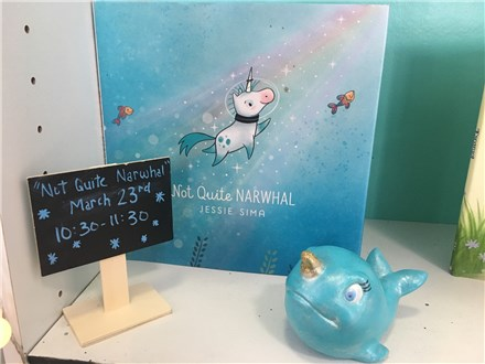 Pre-School Storytime: Not Quite A Narwhal