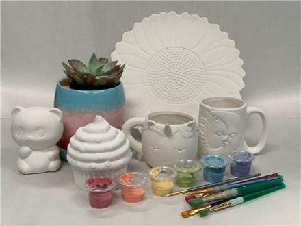 Pottery Take Home Kit