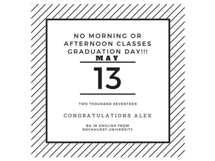 Graduation Day - No Morning or Afternoon Classes