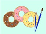 Donut You Want to Paint! Day Camp