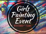 Girls Painting Event with Kimberly & Friends (Private Party) 7/2/17