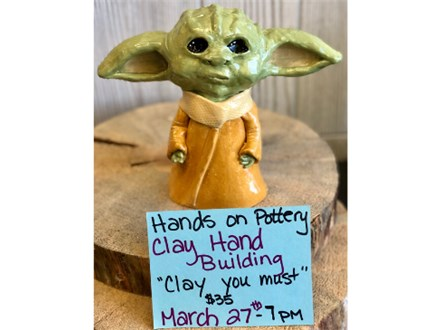 """You Had Me at Merlot - Clay Hand Building """"Clay You Must"""" - March 27th"""