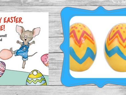 Story Time - Ceramic Easter Egg