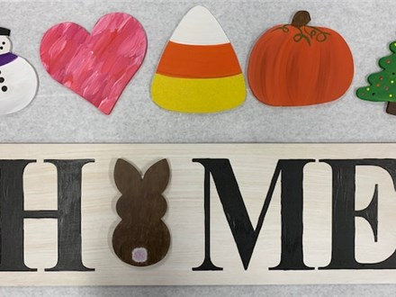 Wood Home Sign - Take Home Project