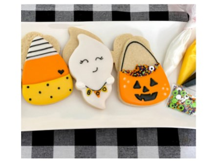 Mommy & Me Halloween Cookie Class - WR