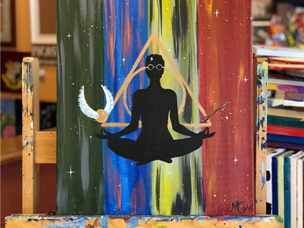 Adult Canvas - Yoga & Paint - 09.30.18