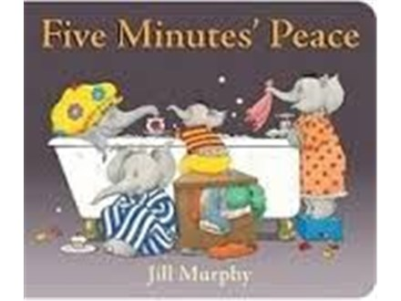 Story Time Art - Five Minutes Peace - Morning Session - 05.20.19