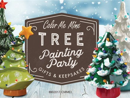 Christmas Tree Painting Party! Sunday, October 27th @ 11:00am
