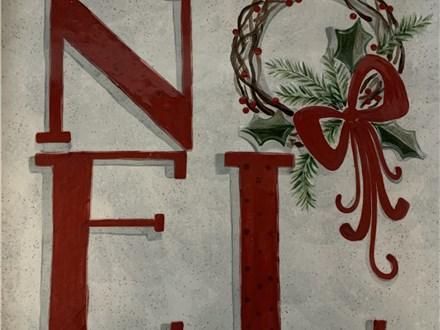 Noel Christmas Platter Dec. 5