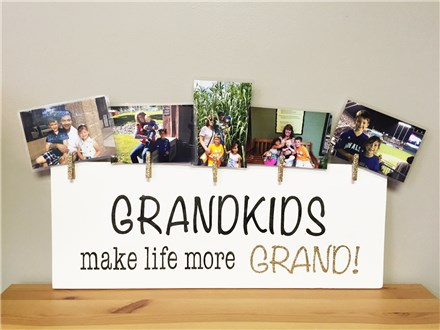 Grandkids Sign - May 11th