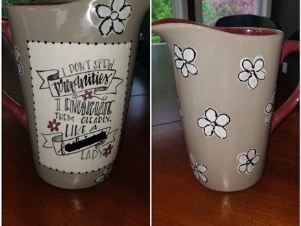 Potty Mouth Pottery - August 16th