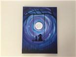 Moonlight Swing (Christine R) Canvas Class