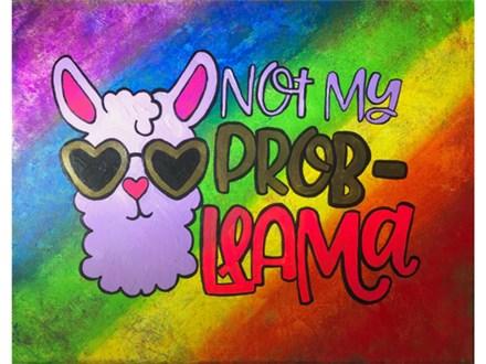 Llama Kids Canvas Class - 07/13